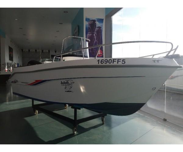 2.4 barco consola central SABOR com mercury 50hp 4t. EFI