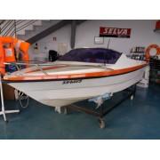 6.6 barco Argus 400 sport com Honda 25hp com trime
