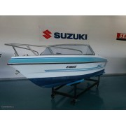 6.2 Barco 4m com motor yamaha 40hp completo