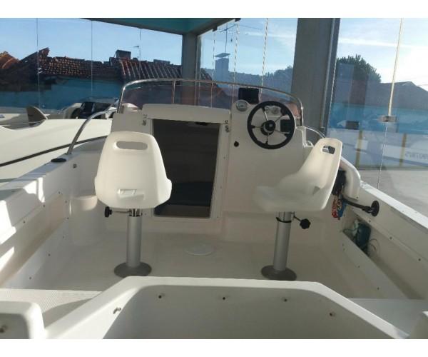 2.5 barco baleote 480 com SUZUKI 60HP 4 TEMPOS efi