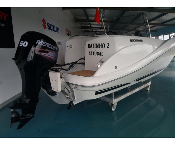 2.2  barco QUICKSILVER COMMANDER 505 com MERCURY 50 HP