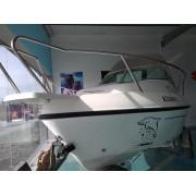 2.6 Barco Delfyn 520 com motor SUZUKI 90HP= 50 hp xpro