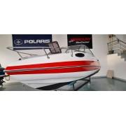 2.7 Barco CARAVELLE 570 com motor MERCRUISER 150HP 4Tempos